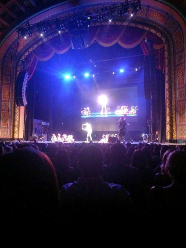 Florida Theatre, sección: 200, fila: n, asiento: 3