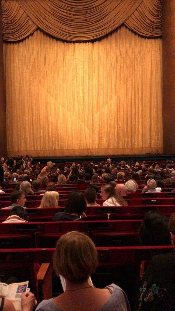 Metropolitan Opera House - Lincoln Center, sección: Orchestra, fila: Z, asiento: 110