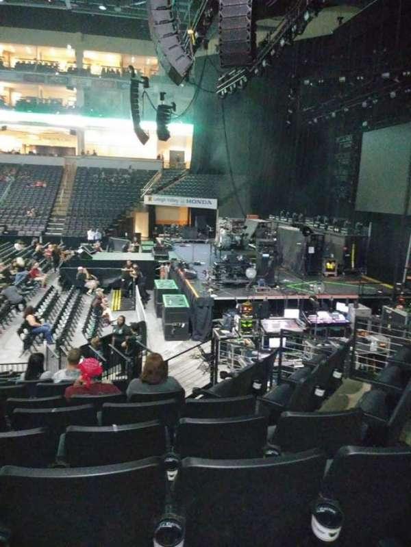 PPL Center, sección: 102, fila: 12, asiento: 6