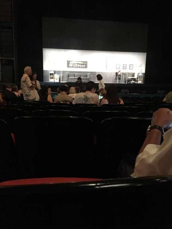 Curran Theater, sección: Orchestra, fila: N, asiento: 102