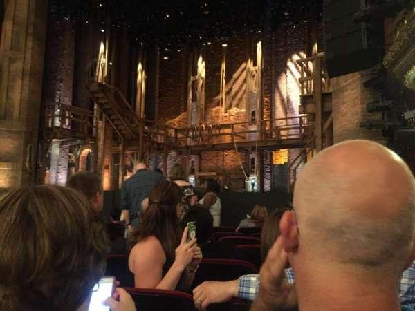 CIBC Theatre, sección: Orchestra R, fila: J, asiento: 12