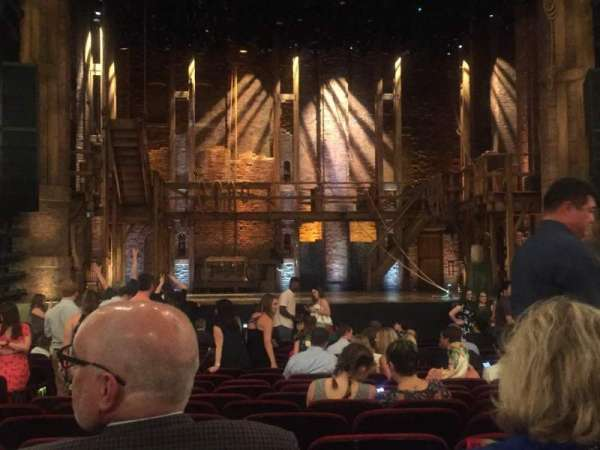 CIBC Theatre, sección: Orchestra C, fila: U, asiento: 105