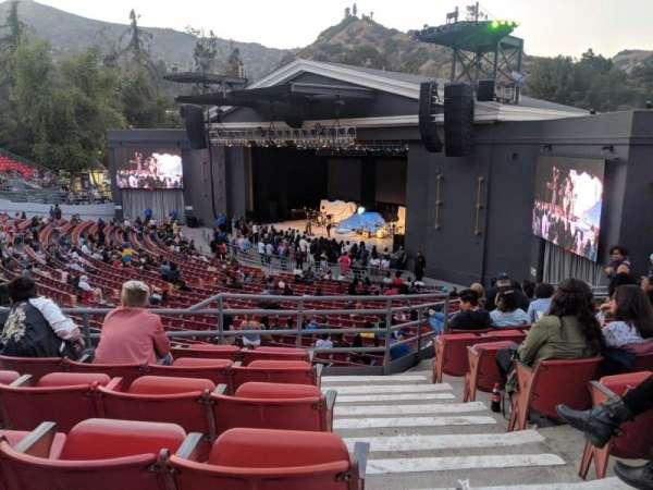 The Greek Theatre, sección: South Terrace R2, fila: D, asiento: 20