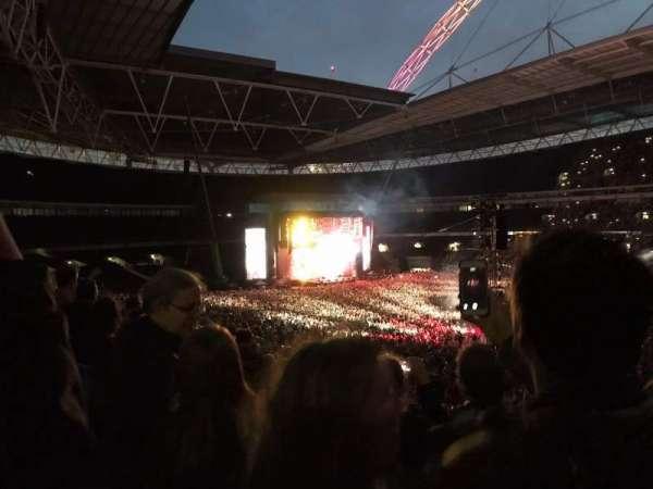 Wembley Stadium, sección: 223, fila: 7