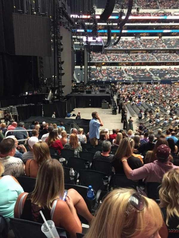 AT&T Stadium, sección: 124, fila: 14, asiento: 7