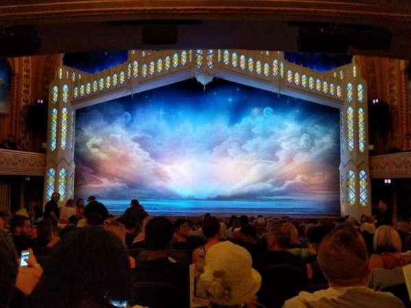 Eugene O'Neill Theatre, sección: Orchestra, fila: P, asiento: 105