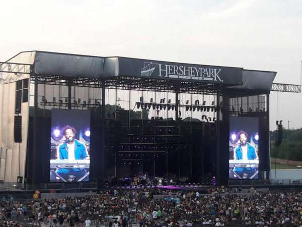 Hershey Park Stadium, sección: 3, fila: N, asiento: 20