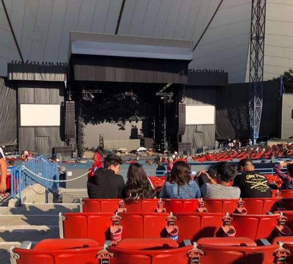 Shoreline Amphitheatre, sección: 202, fila: K, asiento: 52