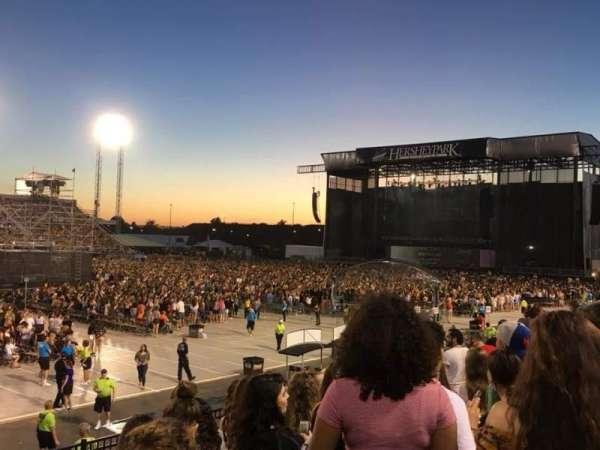 Hershey Park Stadium, sección: 29, fila: C, asiento: 15
