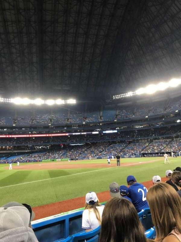 Rogers Centre, sección: 130BR, fila: 4, asiento: 9