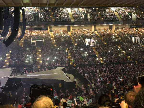Royal Farms Arena, sección: 205, fila: K, asiento: 11