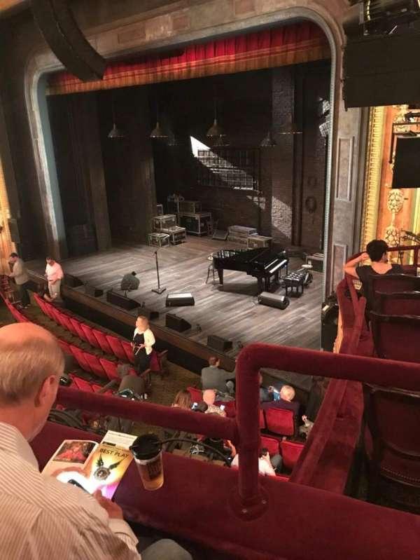 Walter Kerr Theatre, sección: Mezz - Right, fila: B, asiento: 24