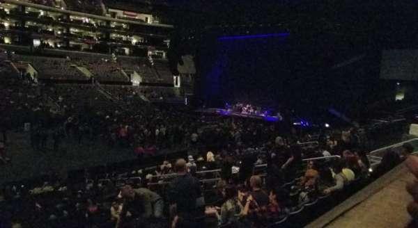 Staples Center, sección: PR6, fila: 1, asiento: 11