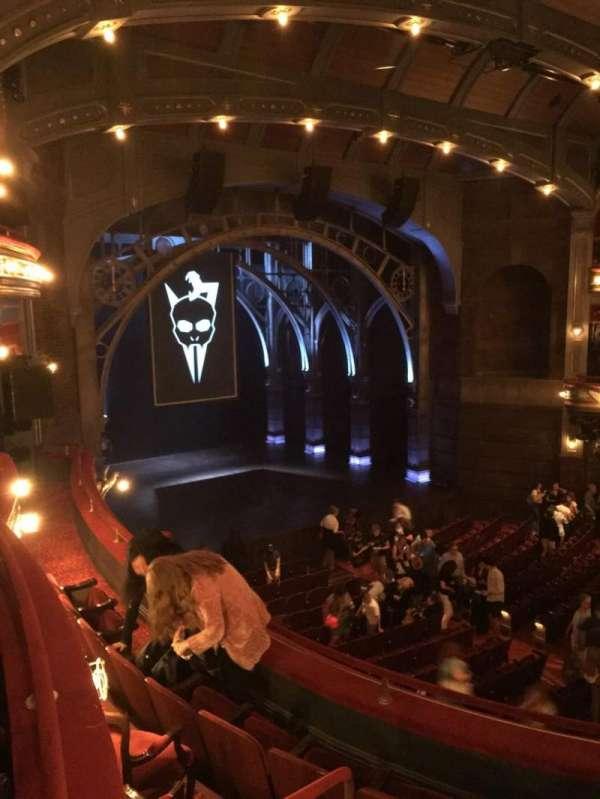 Lyric Theatre, sección: Dress Circle, fila: Left box , asiento: A1
