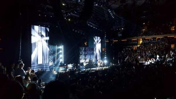 Madison Square Garden, sección: 117, fila: 8, asiento: 11