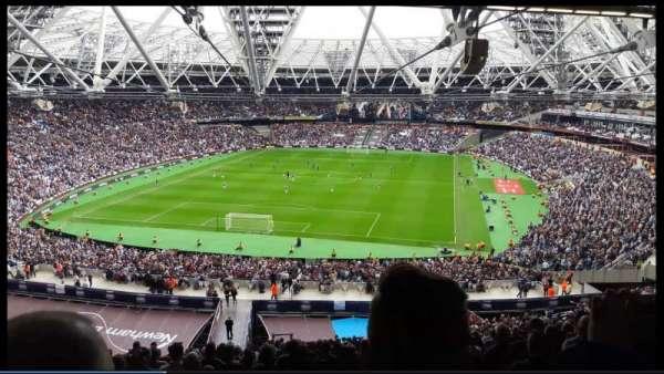 London Stadium, sección: 252, fila: 65, asiento: 795