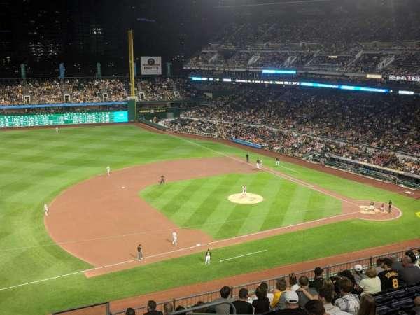 PNC Park, sección: 325, fila: D, asiento: 16