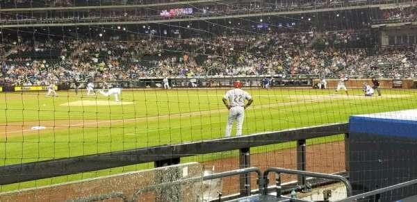 Citi Field, sección: 124, fila: 2, asiento: 1