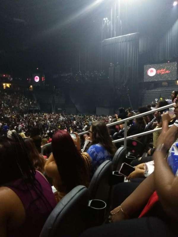 T-Mobile Arena, sección: 14, fila: G, asiento: 9