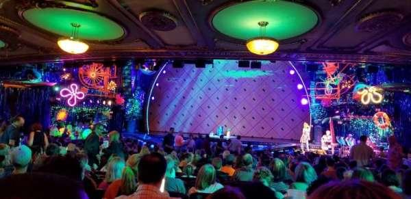 Palace Theatre (Broadway), sección: Rear Orchestra Center, fila: Z, asiento: 118