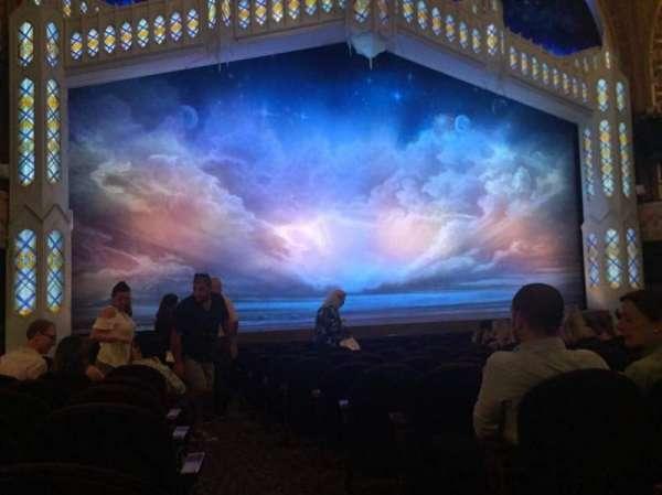 Eugene O'Neill Theatre, sección: ORCHL, fila: M, asiento: 1