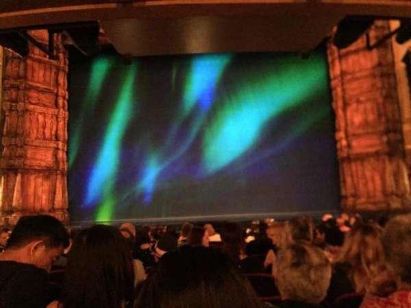 St. James Theatre, sección: Orch, fila: M, asiento: 109