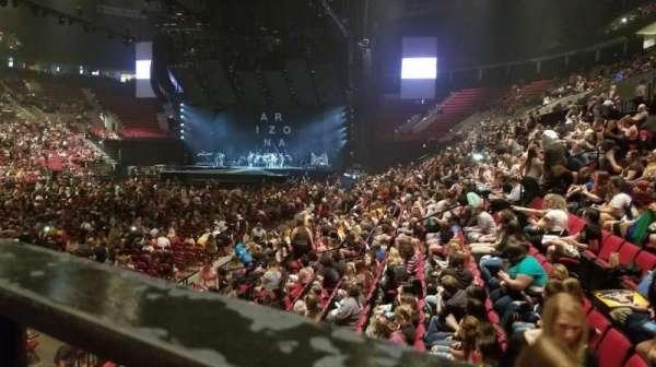 Moda Center, sección: 115, fila: M, asiento: 1