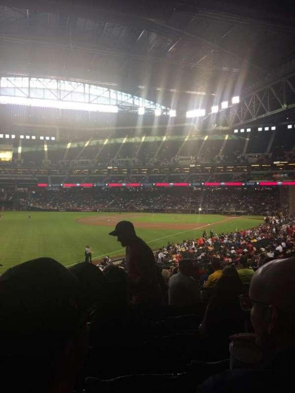 Chase Field, sección: 135, fila: 35, asiento: 20