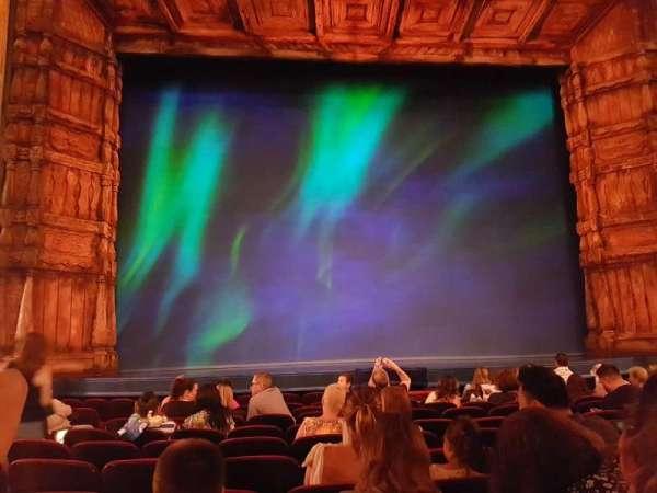 St. James Theatre, sección: Orch Middle, fila: K, asiento: 112