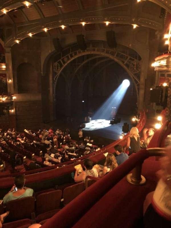 Lyric Theatre, sección: Dress Circle, fila: Box C, asiento: Seat 1