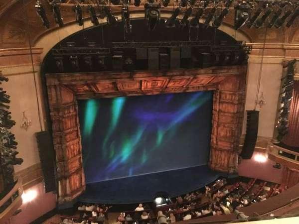St. James Theatre, sección: Balcony, fila: A, asiento: 3