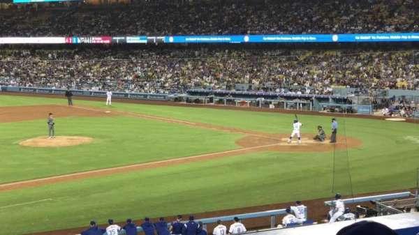 Dodger Stadium, sección: 135LG, fila: C, asiento: 7