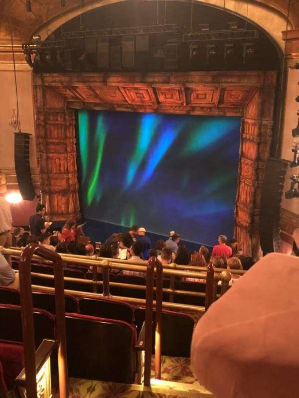 St. James Theatre, sección: MEZZR, fila: N, asiento: 30