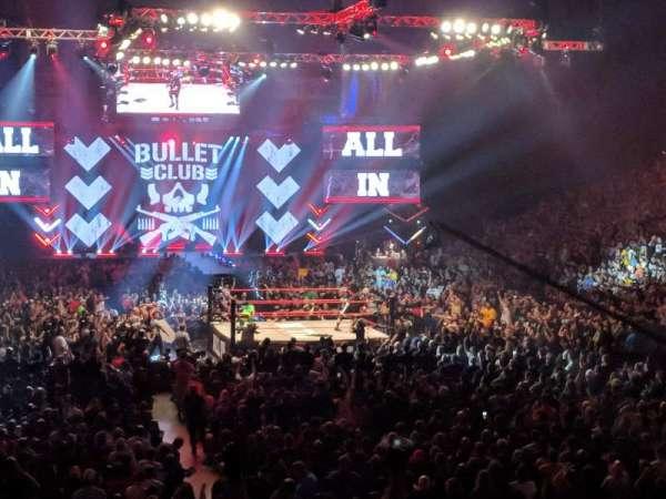Now Arena, sección: 109, fila: 18, asiento: 1