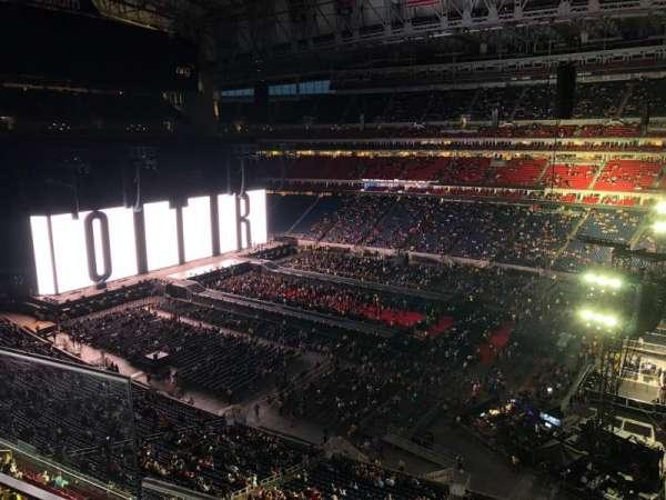 NRG Stadium, sección: 504, fila: H, asiento: 25