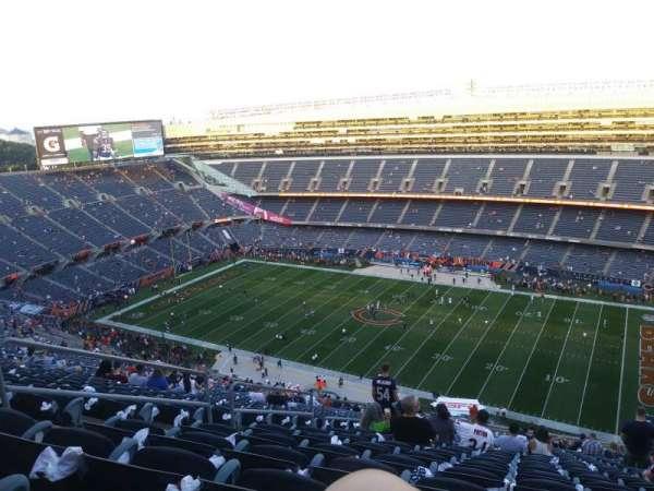 Soldier Field, sección: 433, fila: 36, asiento: 6