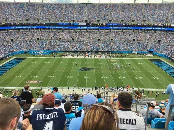 Bank Of America Stadium , sección: 515, fila: 11, asiento: 1