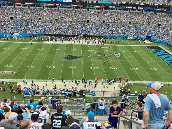 Bank Of America Stadium, sección: 515, fila: 11, asiento: 1