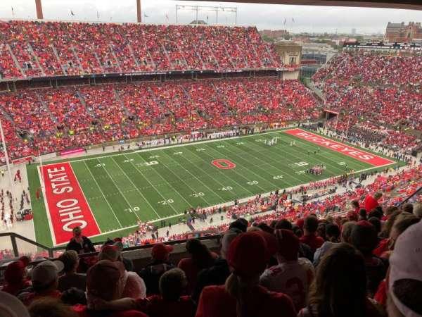 Ohio Stadium, sección: 15D, fila: 11, asiento: 6