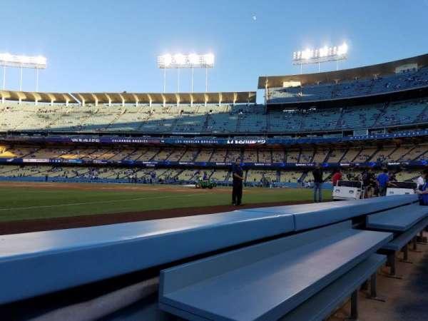Dodger Stadium, sección: 37BL, fila: 1, asiento: 1