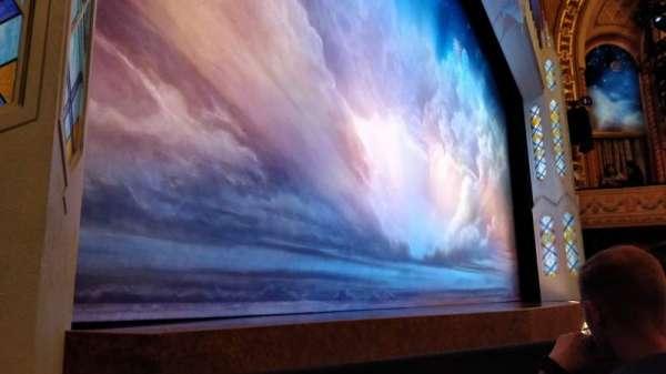 Eugene O'Neill Theatre, sección: Orchestra Left Partial View, fila: B, asiento: 11