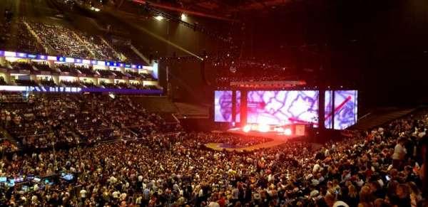 The O2 Arena, sección: 109, fila: ZZ, asiento: 101