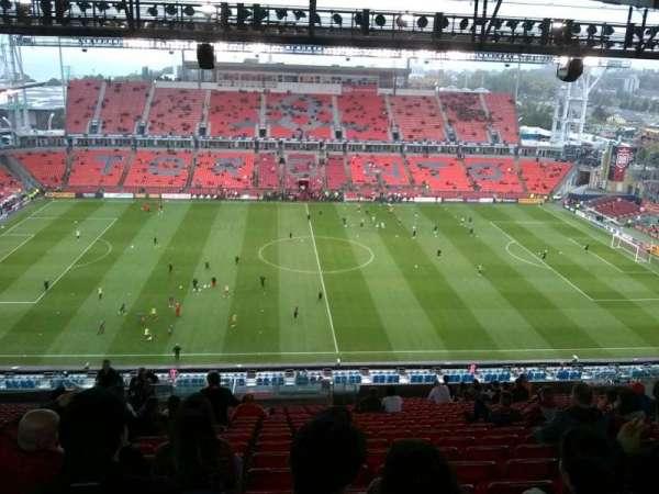 BMO Field, sección: 207, fila: 26, asiento: 34