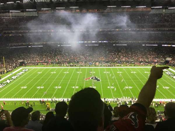 NRG Stadium, sección: 533, fila: MW, asiento: 13