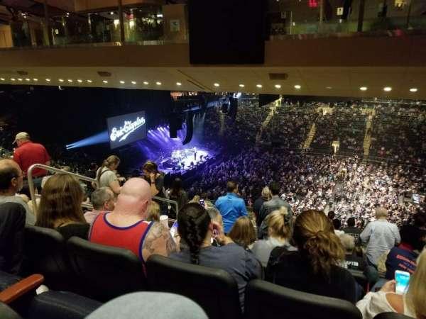 Madison square garden , sección: 225, fila: 19, asiento: 6