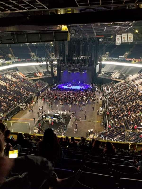 Talking Stick Resort Arena, sección: 210, fila: 12, asiento: 5