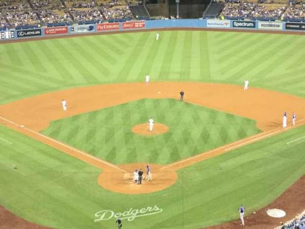 Dodger Stadium, sección: 2RS, fila: P, asiento: 4