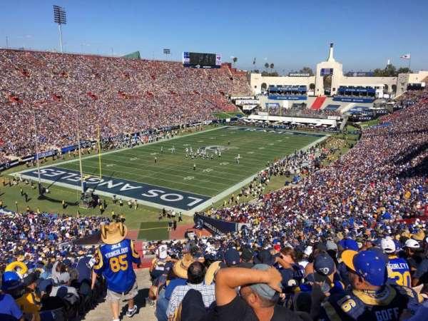 Los Angeles Memorial Coliseum, sección: 11L, fila: 38, asiento: 7