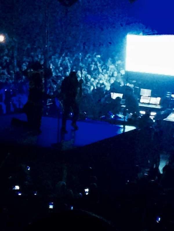 The O2 Arena, sección: B, fila: Q, asiento: 228