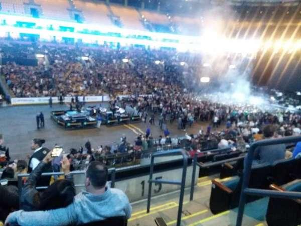 TD Garden, sección: LOGE 3, fila: 26, asiento: 2